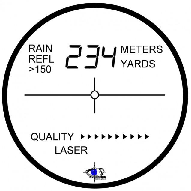 Laserový dálkoměr LRS-600 Solar