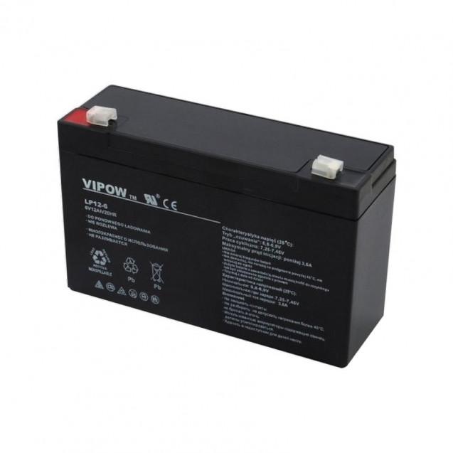 Akumulátor AGM VIPOW 6V 12Ah