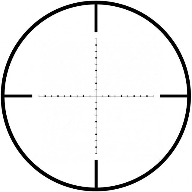 UTG 1-4,5x28 Accushot Tactical CQB Mil-Dot