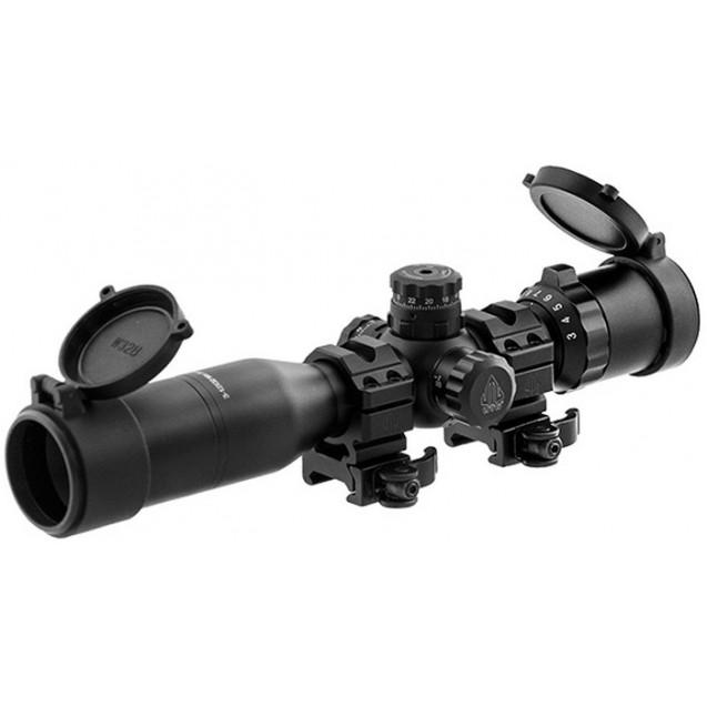 UTG 3-12x32 Compact Swat AO