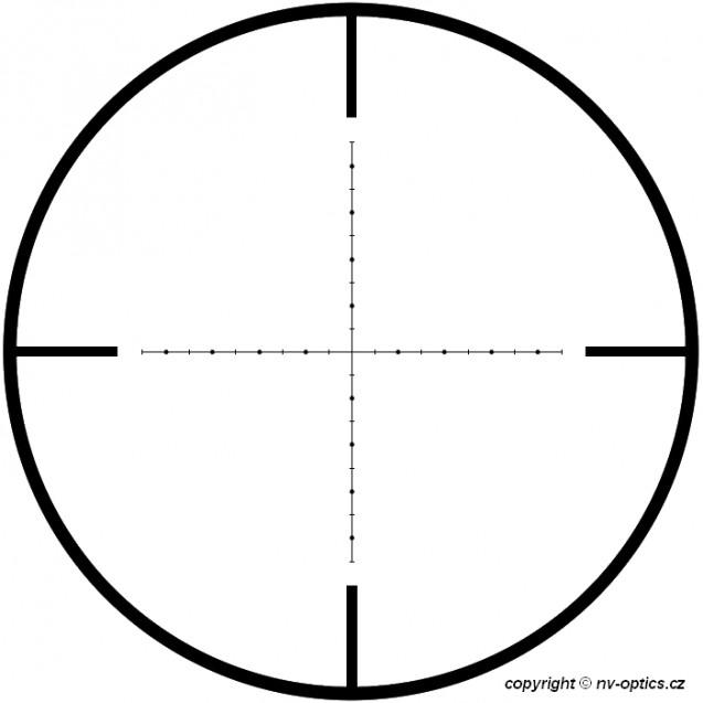 UTG 3-12x44 Glass Mil-Dot