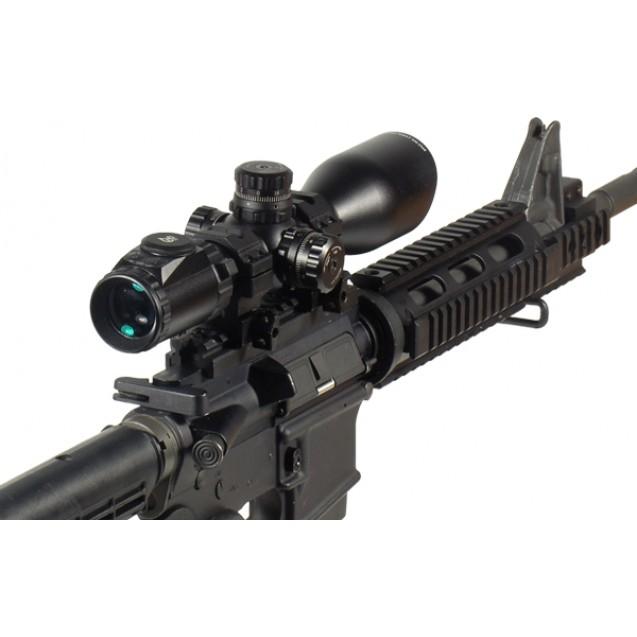 UTG 3-12X44 Compact , Glass Mil-Dot